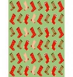 Christmas stockings wallpaper vector