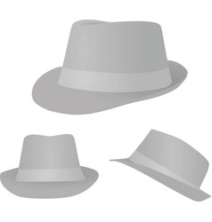 Grey hat vector
