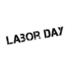 Labor Day rubber stamp vector