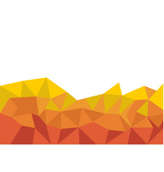 lowpoly background vector image