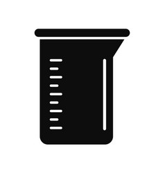 Measurement pot icon simple style vector