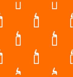 Plastic bottle of drain cleaner pattern seamless vector