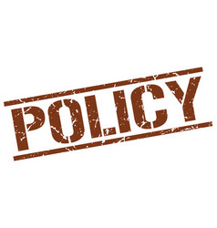Policy stamp vector