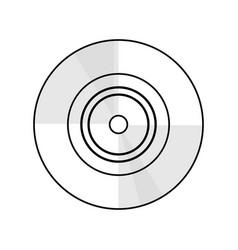 Vinyl vintage music vector