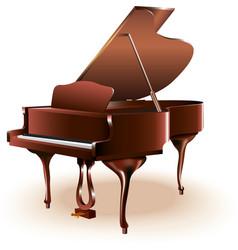 Classical grand piano vector image