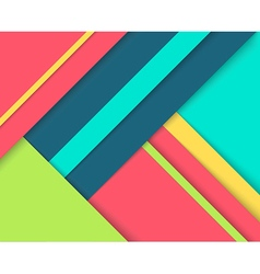 Abstract background with colorful layers vector image vector image
