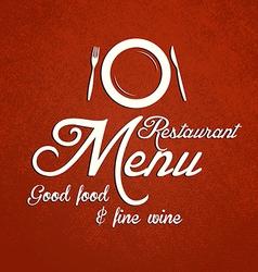 restaurant menu 2 vector image vector image