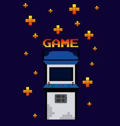 Arcage vintage game vector