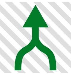 Combine Arrow Up Icon vector