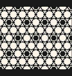Hexagons pattern abstract geometric seamless vector