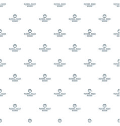 Monarch king pattern seamless vector