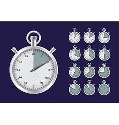 StopwatchSet vector image
