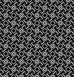Celtic style 3d geometric seamless pattern vector