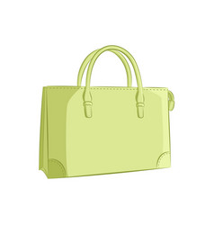 elegant women handbag fashion accessories the vector image vector image