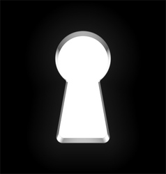 keyhole vector image vector image