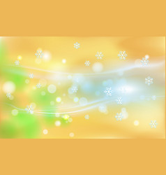 merry christmas vintage orange background with vector image
