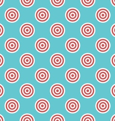 Targets seamless pattern vector image