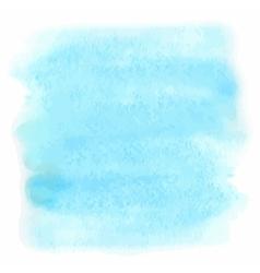 blue watercolor vector image vector image