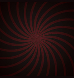 red and black spiral vintage vector image vector image