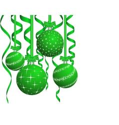 beautiful christmas card vector image vector image