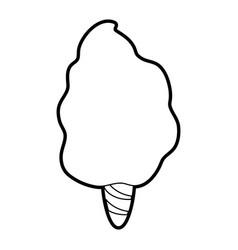 delicious cotton candy icon image vector image vector image