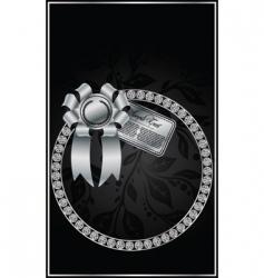 diamond design vector image vector image