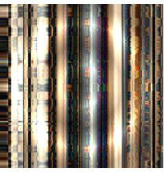 iridescent interference of a television signal vector image