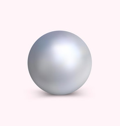 Bright pearl for decoration vector
