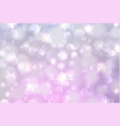Light purple bokeh background vector