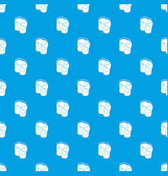 man jeans pattern seamless blue vector image