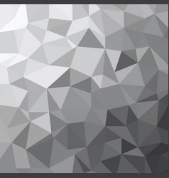 Abstract grey tone triangle low polygon geometric vector