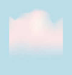 cloudscape light blue sky white clouds vector image