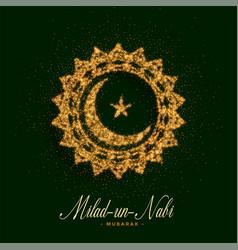 Eid milad un nabi barawafast card design vector
