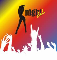 nightclub vector image