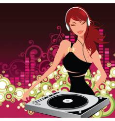 nightlife vector image