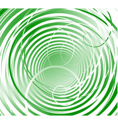 spiral swirl shapes abstract swoosh elements vector image