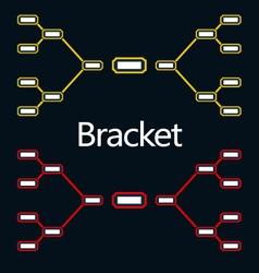 Bracket vector image