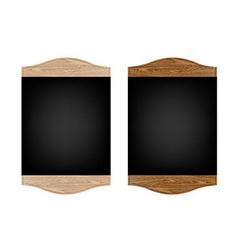 Restaurant Menu Board Set vector image vector image