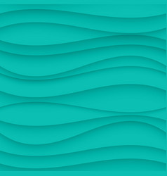 Blue seamless wavy background texture vector
