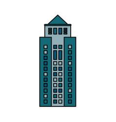 Building cityspace skyscraper image vector