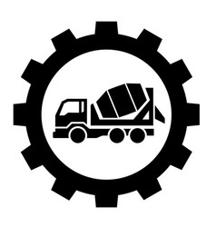 cement industry icon vector image