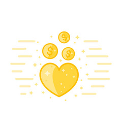 charity donations vector image