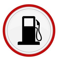 petrol web icon vector image