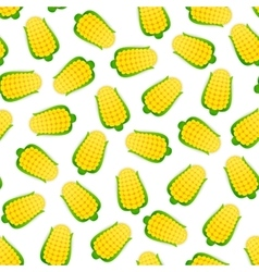 Seamless Pattern with Corns vector