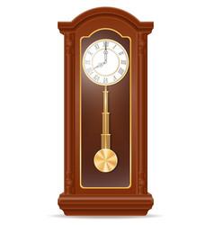 clock old retro icon stock vector image