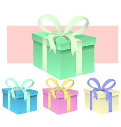 presents vector image vector image