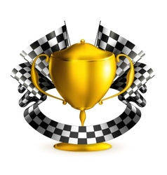 Prize race vector image