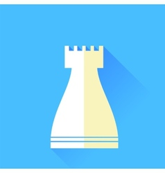 Rook Chess Icon vector image vector image