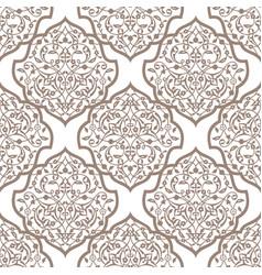 Oriental seamless pattern of mandalas vector