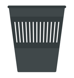 bin for papers icon isolated vector image